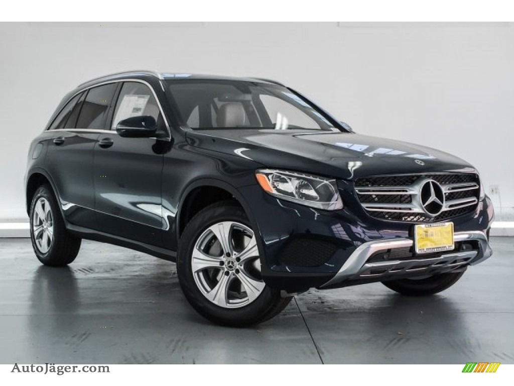 2018 GLC 300 - Lunar Blue Metallic / Silk Beige/Black photo #12