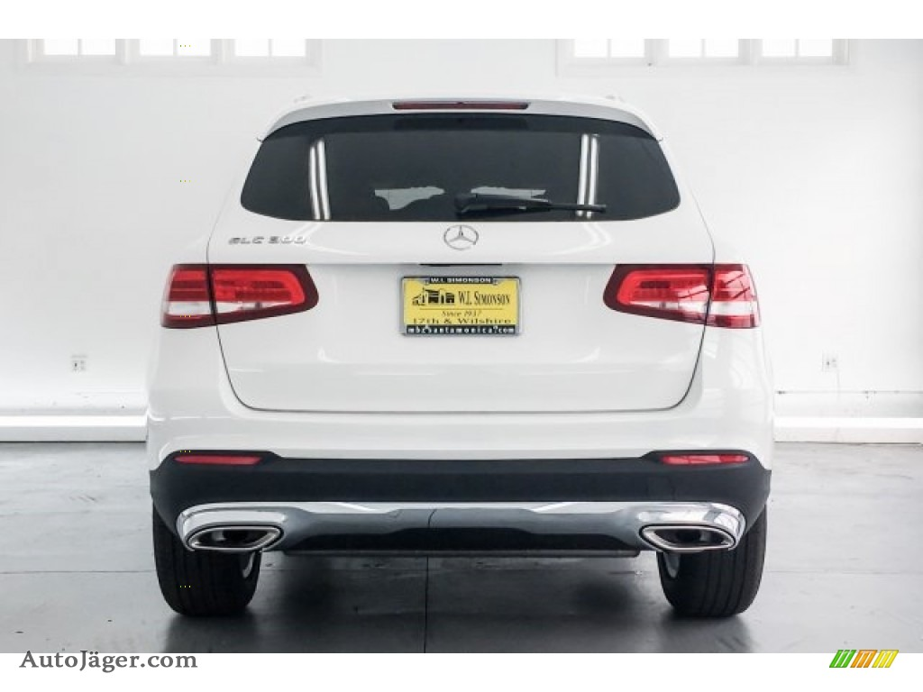 2018 GLC 300 - Polar White / Silk Beige/Black photo #4
