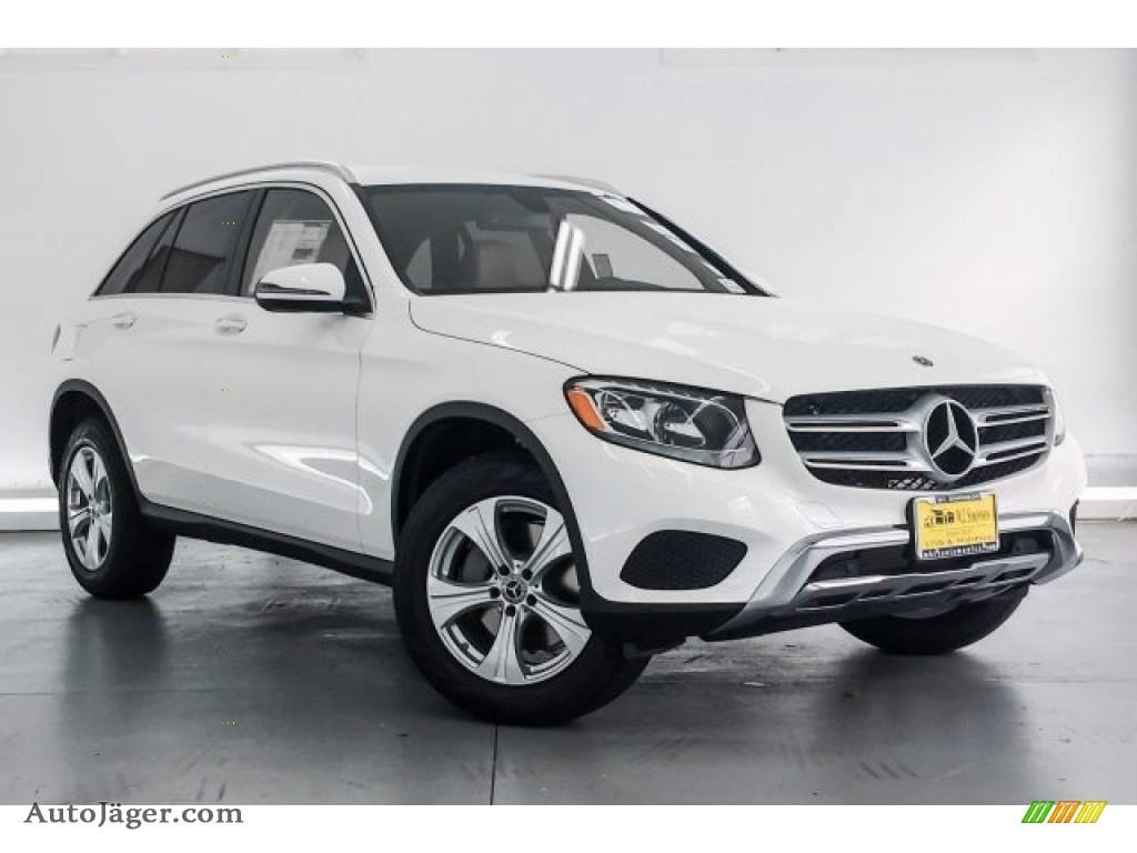 2018 GLC 300 - Polar White / Silk Beige/Black photo #12