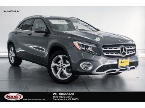 Mountain Grey Metallic 2018 Mercedes-Benz GLA 250