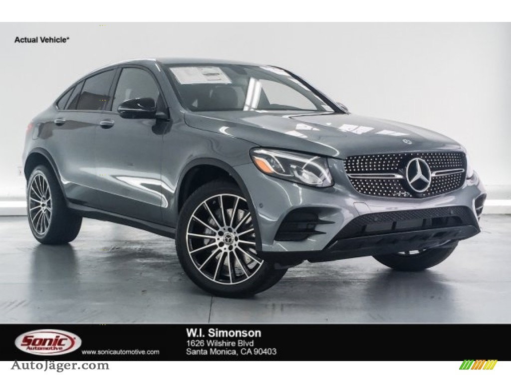 Selenite Grey Metallic / Black Mercedes-Benz GLC 300 4Matic Coupe