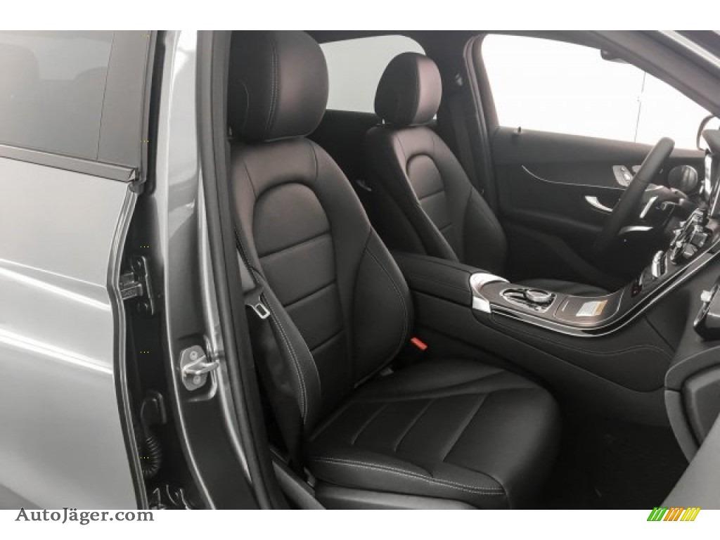 2018 GLC 300 4Matic Coupe - Selenite Grey Metallic / Black photo #2