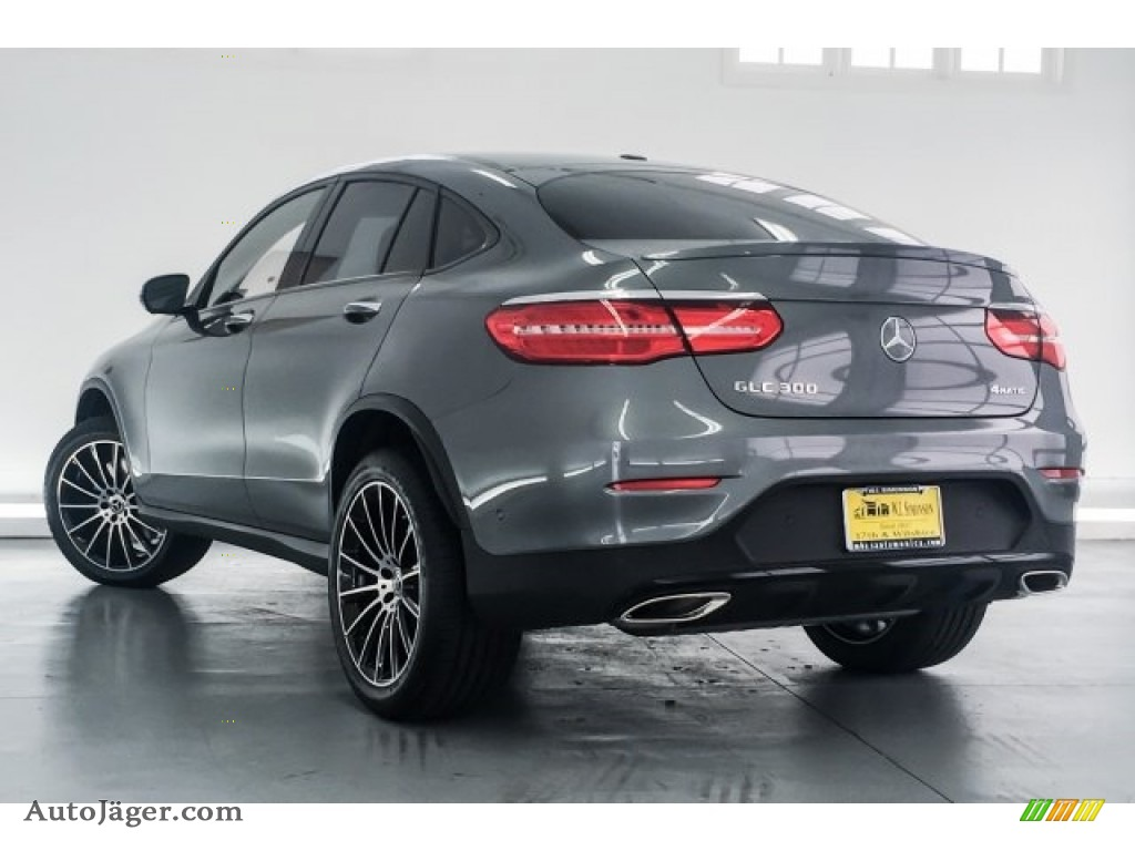 2018 GLC 300 4Matic Coupe - Selenite Grey Metallic / Black photo #3