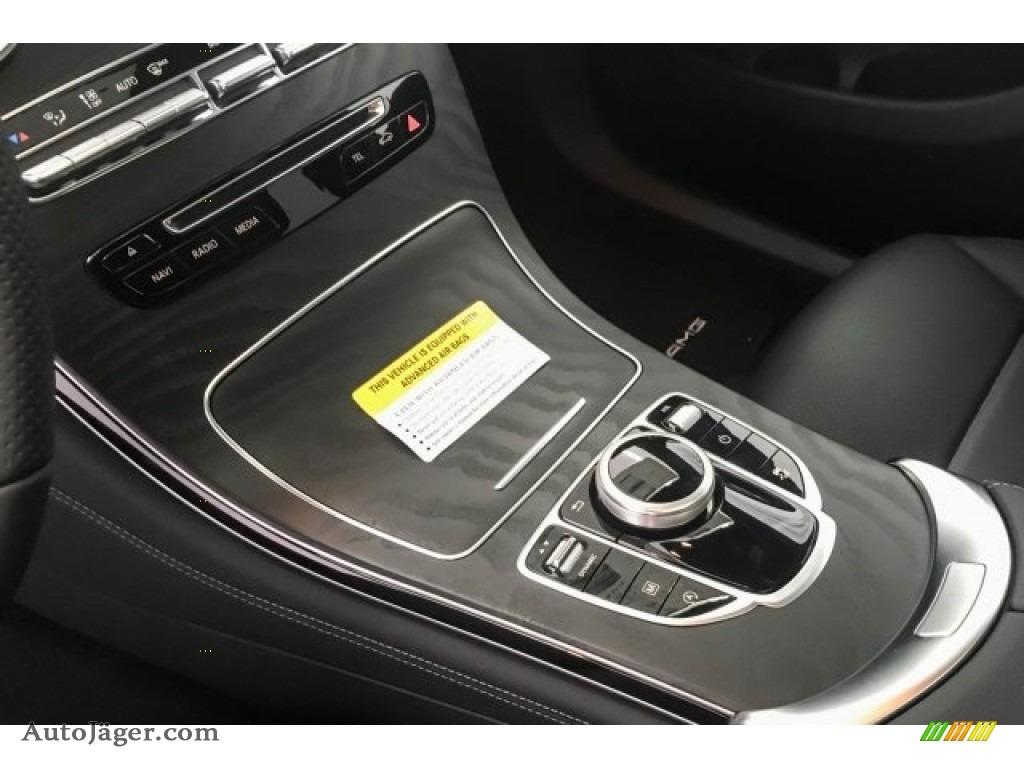 2018 GLC 300 4Matic Coupe - Selenite Grey Metallic / Black photo #7