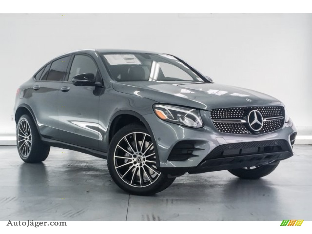 2018 GLC 300 4Matic Coupe - Selenite Grey Metallic / Black photo #12