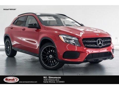 Jupiter Red 2018 Mercedes-Benz GLA 250
