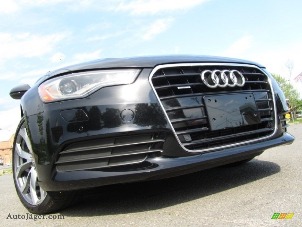 2014 A6 2.0T quattro Sedan - Brilliant Black / Black photo #1