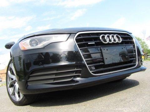 Brilliant Black 2014 Audi A6 2.0T quattro Sedan