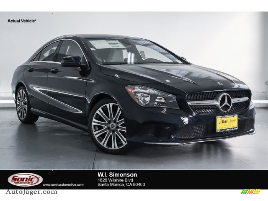 Lunar Blue Metallic / Crystal Grey Mercedes-Benz CLA 250 Coupe
