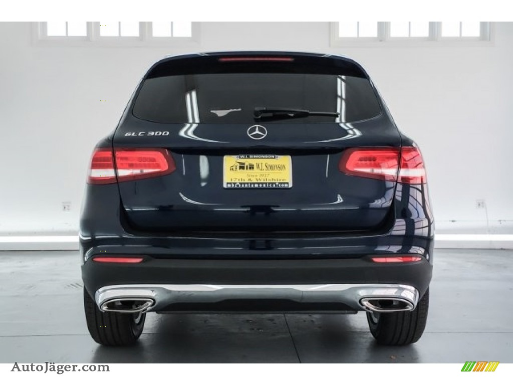 2018 GLC 300 - Lunar Blue Metallic / Silk Beige/Espresso Brown photo #4