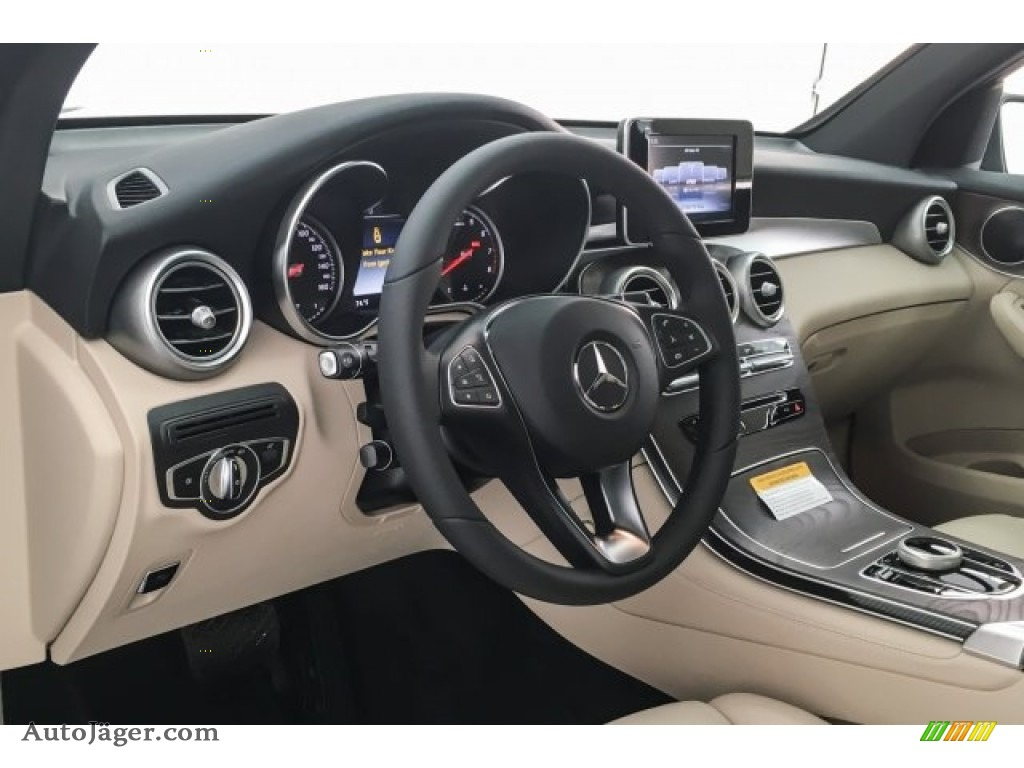 2018 GLC 300 - Lunar Blue Metallic / Silk Beige/Espresso Brown photo #5