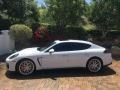 Porsche Panamera GTS White photo #5