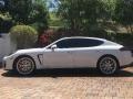 Porsche Panamera GTS White photo #10