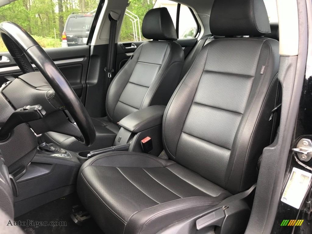 2010 Jetta SE Sedan - Black / Titan Black photo #16