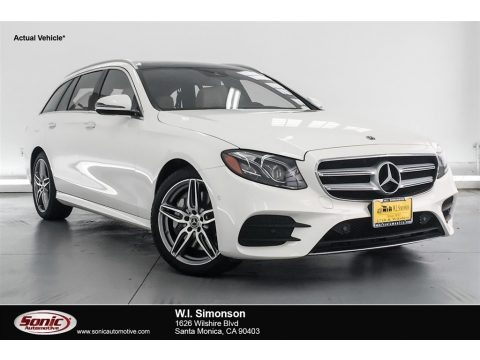 Polar White 2018 Mercedes-Benz E 400 4Matic Wagon