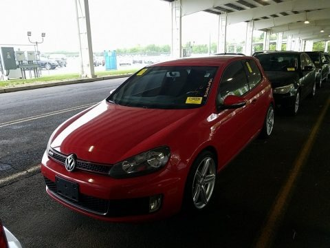 Tornado Red 2010 Volkswagen GTI 2 Door