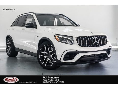 Polar White 2018 Mercedes-Benz GLC AMG 63 4Matic