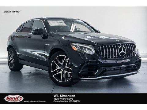 Black 2018 Mercedes-Benz GLC AMG 63 4Matic Coupe
