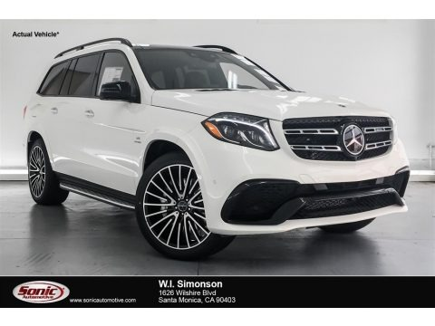 designo Diamond White Metallic 2018 Mercedes-Benz GLS 63 AMG 4Matic