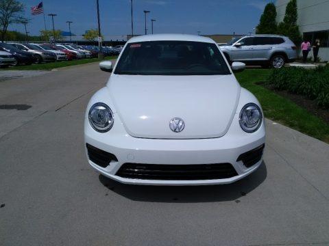 Pure White 2018 Volkswagen Beetle S