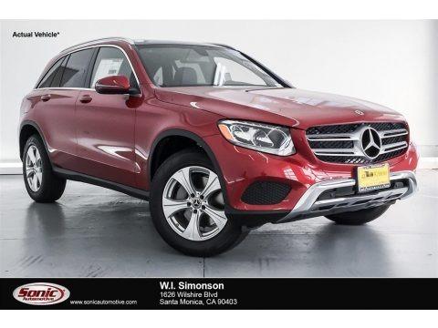 designo Cardinal Red Metallic 2018 Mercedes-Benz GLC 300