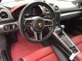 Porsche 718 Cayman  GT Silver Metallic photo #17