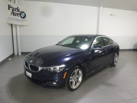 Imperial Blue Metallic 2018 BMW 4 Series 430i xDrive Gran Coupe