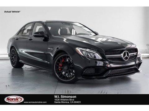 Black 2018 Mercedes-Benz C 63 S AMG Sedan