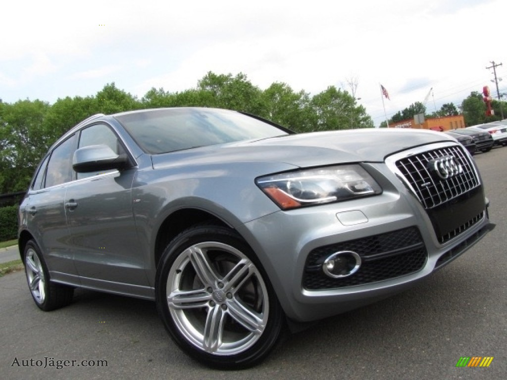 2011 Q5 3.2 quattro - Quartz Grey Metallic / Black photo #2