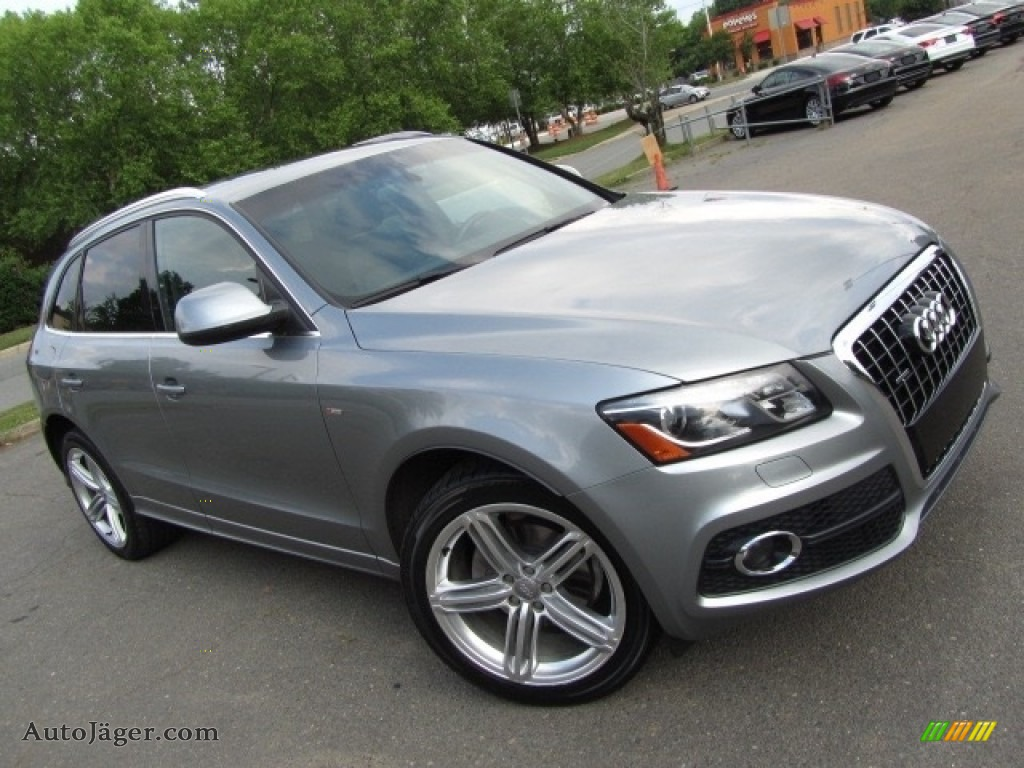 2011 Q5 3.2 quattro - Quartz Grey Metallic / Black photo #3
