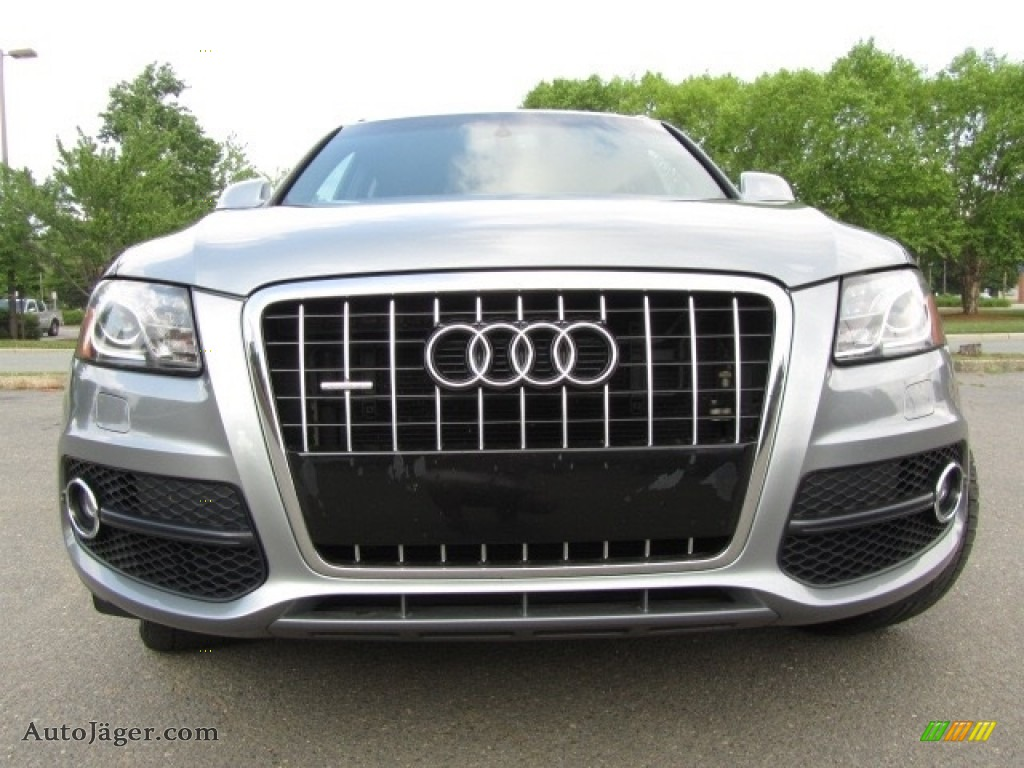 2011 Q5 3.2 quattro - Quartz Grey Metallic / Black photo #4