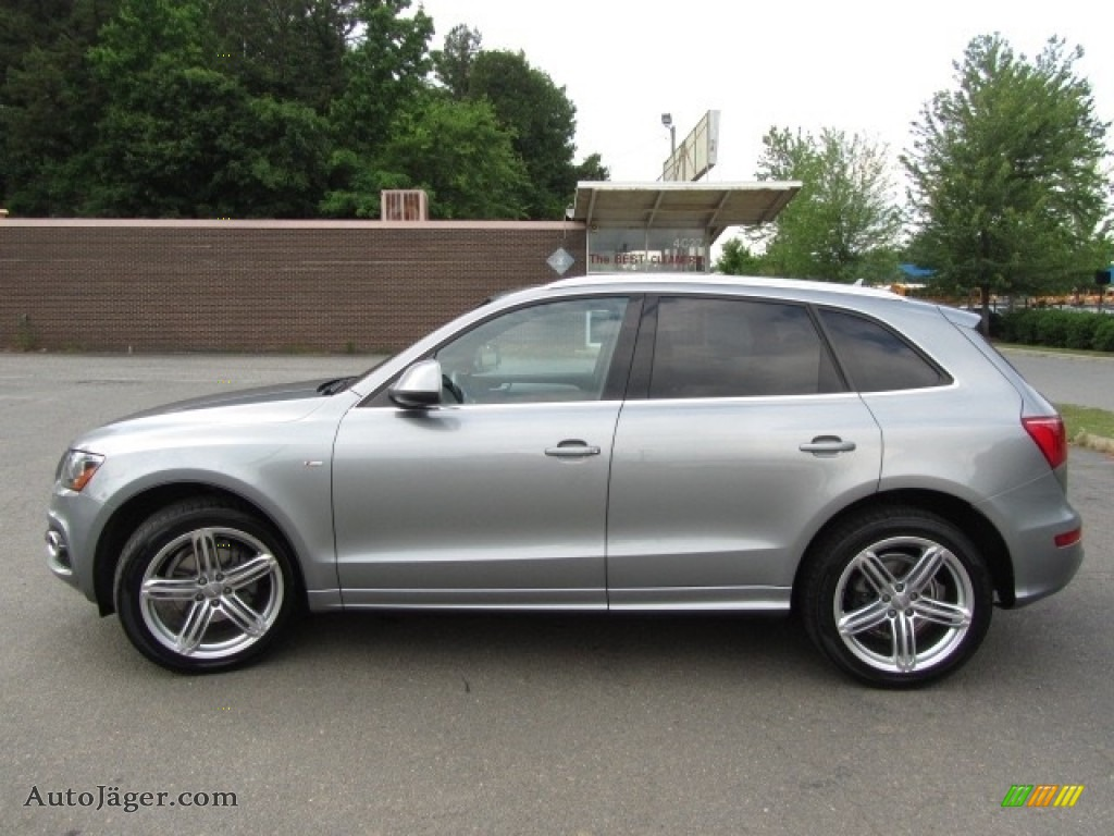 2011 Q5 3.2 quattro - Quartz Grey Metallic / Black photo #7