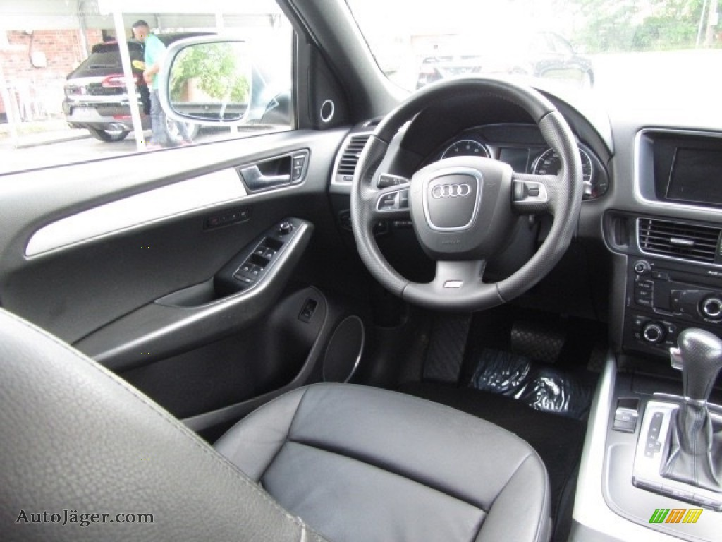 2011 Q5 3.2 quattro - Quartz Grey Metallic / Black photo #12