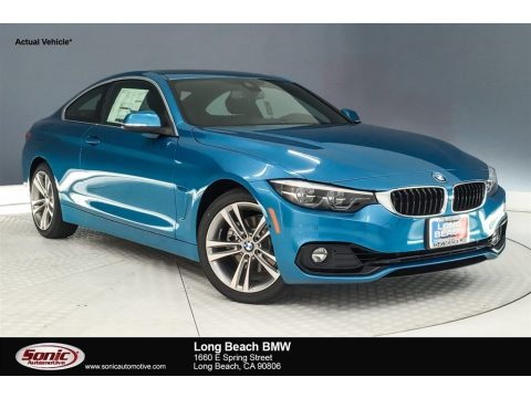 Snapper Rocks Blue Metallic 2019 BMW 4 Series 430i Coupe