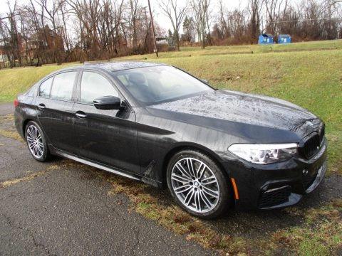 Black Sapphire Metallic 2018 BMW 5 Series 540i xDrive Sedan