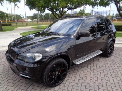 Jet Black 2008 BMW X5 4.8i