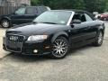 Audi A4 2.0T quattro Cabriolet Phantom Black Pearl Effect photo #1