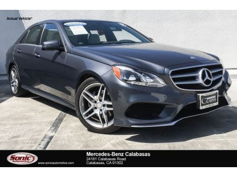 Steel Grey Metallic 2016 Mercedes-Benz E 350 Sedan