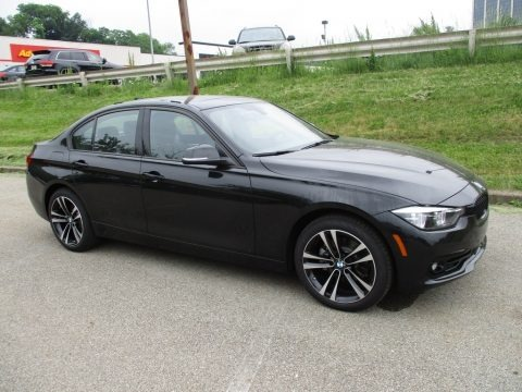 Black Sapphire Metallic 2018 BMW 3 Series 330i xDrive Sedan