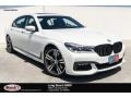 BMW 7 Series 750i Sedan Alpine White photo #1
