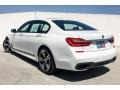 BMW 7 Series 750i Sedan Alpine White photo #3