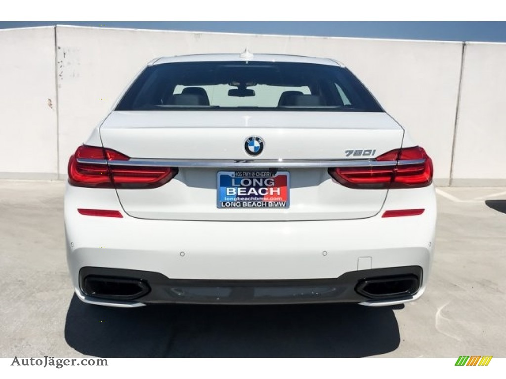 2019 7 Series 750i Sedan - Alpine White / Black photo #4
