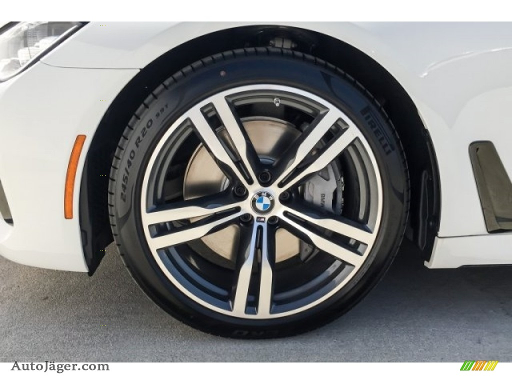 2019 7 Series 750i Sedan - Alpine White / Black photo #9