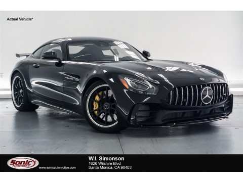Black 2018 Mercedes-Benz AMG GT R Coupe