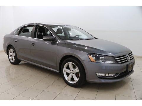 Platinum Gray Metallic 2015 Volkswagen Passat S Sedan