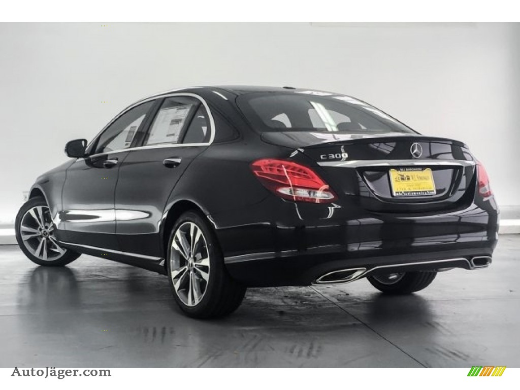 2018 C 300 Sedan - Black / Black photo #3