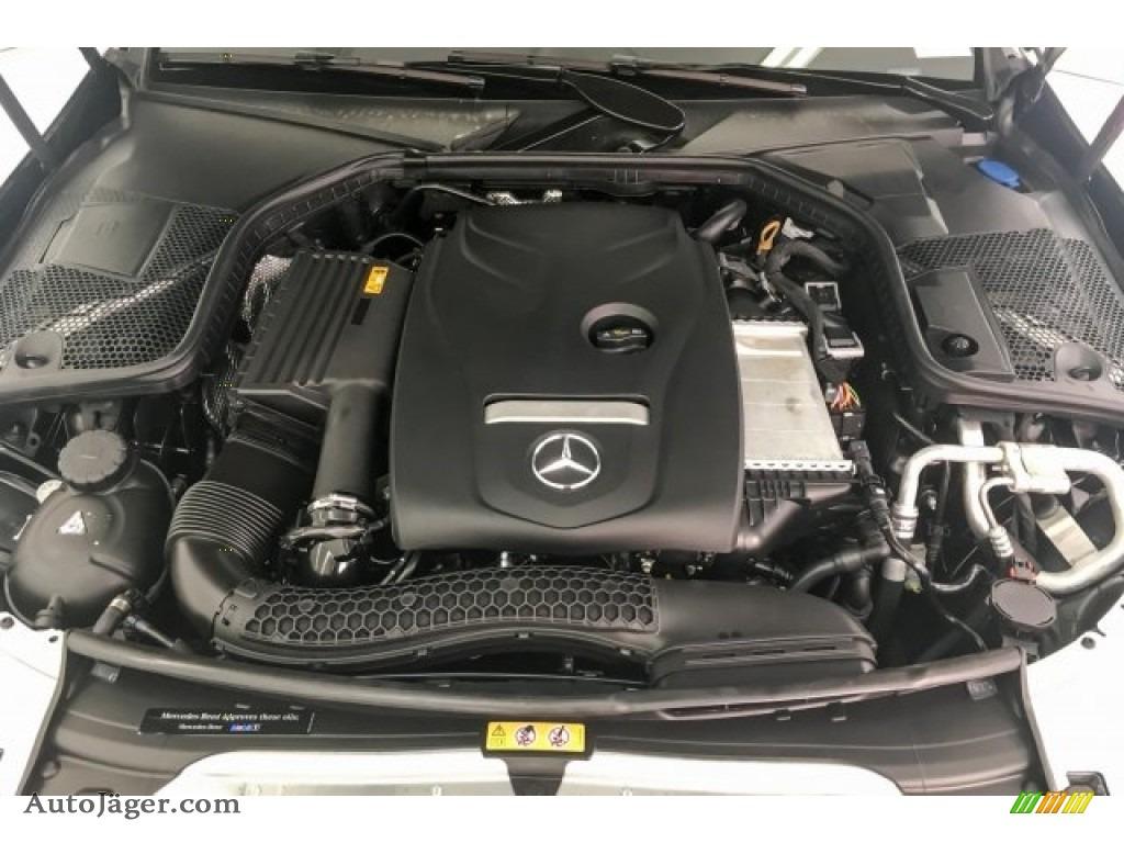 2018 C 300 Sedan - Black / Black photo #8