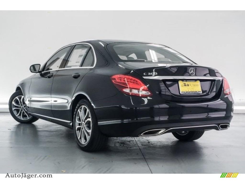 2018 C 300 Sedan - Black / Crystal Grey/Black photo #3