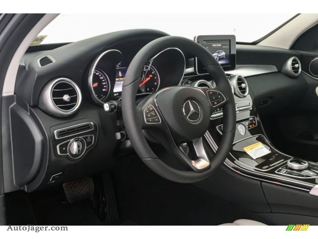 2018 C 300 Sedan - Black / Crystal Grey/Black photo #5