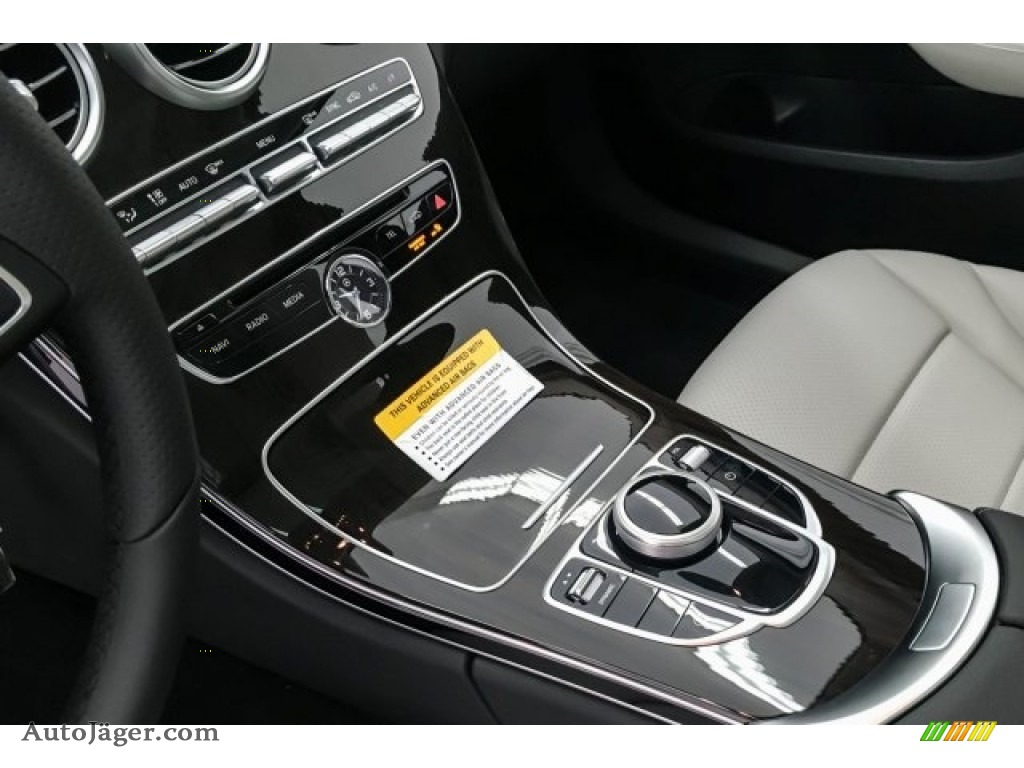 2018 C 300 Sedan - Black / Crystal Grey/Black photo #7